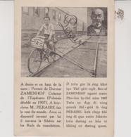 ESPERANTO - TOUR DU MONDE A BICYCLETTE PAR L'ESPERANTO - Esperanto