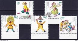 Duitsland West 1994 Nr 1555/59 ** , Zeer Mooi Lot Krt 3206     KOOPJE !!! - [7] République Fédérale