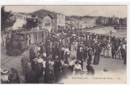 Charente-maritime - Pontaillac - L'arrivée Du Train - France