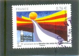 2015 FRANCE Y & T N° 4948 ( O ) Libération Des Camps - France