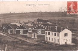 CPA - Longueville - Dépot Des Machines - Autres Communes
