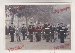 Au Plus Rapide Gendarmerie Nationale Maitre Chien Photo Argentique Beau Format - Guerre, Militaire