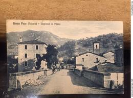 Ancienne Carte Postale Italie Borgo Pace Pesaro - Italie