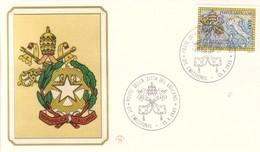 FDC Filagrano Vaticano 1985 Ratifica Concordato. - FDC