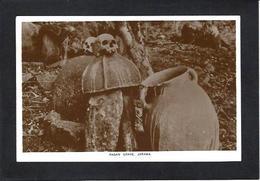 CPA Fétiche Totem Afrique Noire Nigéria Cranes Mort Non Circulé - Nigeria