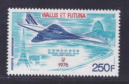WALLIS ET FUTUNA AERIENS N°   71 ** MNH Neuf Sans Charnière, TB (D8017) Avion Concorde, 1er Vol Commercial -1976 - Aéreo