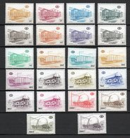 BELGIE 1980 NIEUW 433//54 NEUF POSTFRIS FRAICHEUR POSTALE  MNH ** - Railway