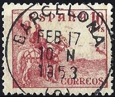 Spain 1949 - El Cid ( Mi 768 IV - YT 786 ) - 1931-50 Used