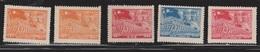 EAST CHINA Scott # 5L77-81 Mint - 1949 - ... République Populaire