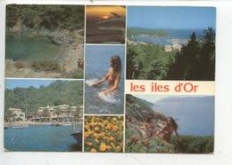 Les Iles D'Or : Multivues Femme Seins Nus NU - Otros Municipios