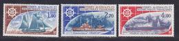 TAAF AERIENS N°   44 à 46 ** MNH Neufs Sans Charnière, TB (D8019) Bateaux Divers - 1976 - Poste Aérienne
