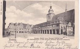 Dessau 1902 Grosser Markt - Dessau