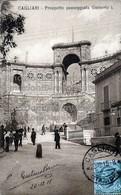 Cagliari Prospetto Passeggiata Umberto I - Cagliari