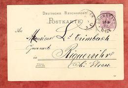 P 18 Ziffer, Brunstatt Nach Riquewihr 1887 (61842) - Deutschland