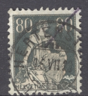 HELVETIA 1915: Mi 141 / YT 166, O - FREE SHIPPING ABOVE 10 EURO - Used Stamps