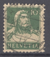 HELVETIA 1921: Mi 164 / YT 161, O - FREE SHIPPING ABOVE 10 EURO - Used Stamps