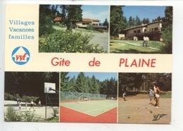 """Plaine - Gite De Plaine """"Les Vieux Champs (VVF) Multivues Tennis Pétanque Hand-ball - France"""