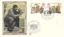 FDC VATICANO 1986 FILAGRANO Unif. 800/1 50^ Pontificato Accademia Della Scienza. - FDC