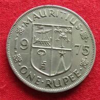 Mauritius 1 Rupee 1975 KM# 35.1 Lt 333  Mauricia Maurice - Maurice