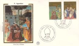 Vaticano 1987 FDC FILAGRANO Sant'Agostino. - FDC