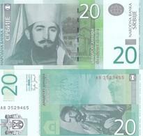 SERBIA 20 DINARI 2006 FDS UNC - Serbie