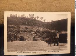 Ancienne Carte Postale Environ De Gonfaron Mine De St Daumas - France