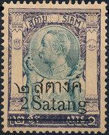 Stamp THAILAND,SIAM  1909 Mint - Thailand