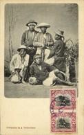 Guatemala, C.A., Group Of Native Indians (1906) Postcard - Guatemala