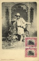 Guatemala, C.A., Armed Native Indian Man (1906) Postcard - Guatemala