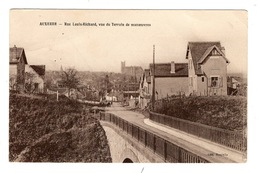 89 YONNE - AUXERRE Rue Louis-Richard, Vue Du Terrain De Manoeuvres (voir Descriptif) - Auxerre