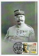 France  2018 CM :  Roumanie France. Général Berthelot. Obliteration 1er Jour 27/11/2018 Paris. - 2010-...