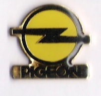 Pin's OPEL - GGE PIGEON - Opel