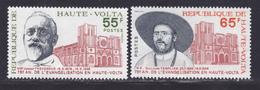HAUTE-VOLTA N°  375 & 376 ** MNH Neufs Sans Charnière, TB (D8023) Anniversaire évangélisation De La Haute-Volta - 1975 - Alto Volta (1958-1984)