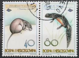 1997 BOSNIA AND HERZEGOVINA BHP SARAJEVO Animals Endangered Species - Bosnië En Herzegovina