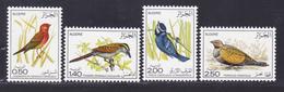 ALGERIE N°  635 à 638 ** MNH Neufs Sans Charnière, TB (D8024) Oiseaux Divers - 1976 - Algérie (1962-...)