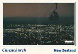 1 AK New Zealand * Nachtansicht Der Stadt Christchurch * - Neuseeland