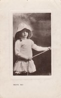 """TUCK #5330, Girl Holding A Rope """"HEAVE HO!"""" , 1909 - Other"""