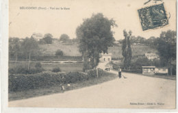 A M 110  /  C P A   MELICOURT  (27)  VUE SUR LA   GARE - Frankreich