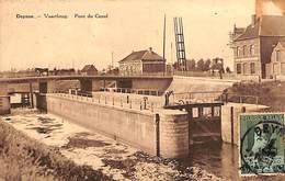 Deinze Deynze - Vaartbrug - Pont Du Canal (animatie, 1930) - Deinze