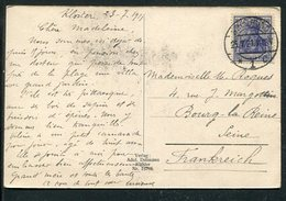 Deutsches Reich / 1921 / Mi. 149 EF A. AK Insel Hiddensee Bei Ruegen Steg-Stempel Stralsund (3/170) - Deutschland