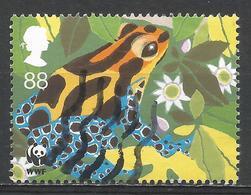 Great Britain 2011. Scott #2893c (U) WWF, 50th Anniv. Poison Dart Frog * - 1952-.... (Elizabeth II)