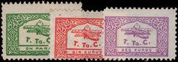 Turkey 1933 Aviation Fund Small Format Lightly Mounted Mint. - 1921-... Republic