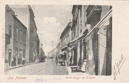 """Las Palmas : Calle Mayor De Triana. (griffe """" Consulat De France""""). - La Palma"""