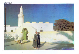 TUNISIA : PICUTURE POST CARD COMMERCIALLY SENT TO GERMANY : VIEW OF JERBA - Tunisia