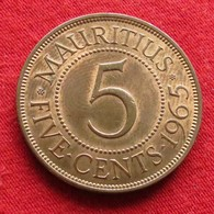 Mauritius 5 Cents 1965 KM# 34  Lt 452  Mauricia Maurice - Maurice