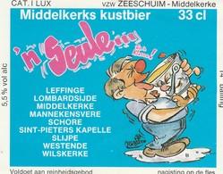 Etiket  'n Seule  Middelkers Kustbier - Bière