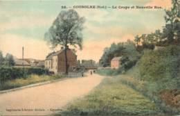 59 - COUSOLRE - Le Crupe Et Nouvelle Rue (couleur) - Other Municipalities