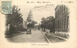 59 - TRELON - Rue De La Concorde En 1904 - Auto - Andere Gemeenten