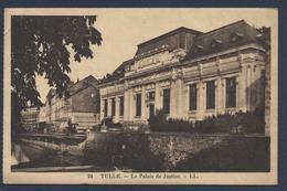 Tulle Le Palais De Justice - Tulle