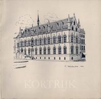 KORTRIJK - COURTRAY - DÉPLIANT TOURISTIQUE. - Bücher, Zeitschriften, Comics